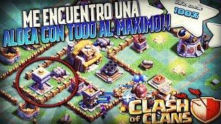 ME ENCUENTRO UNA ALDEA AL MAXIMO & LLEGO A LAS 3000 COPAS!! | Clash of Clans | Rubinho vlc