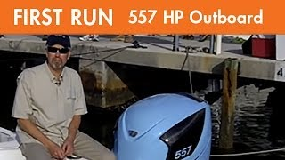First Run with Seven Marine 557 hp Outboard