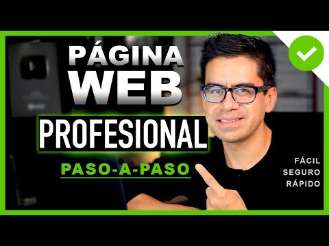 Cómo Crear Una PÁGINA WEB Para NEGOCIO Paso A Paso ▶︎ Profesional Y Seguro ◀︎ Mejor Tutorial  ✅