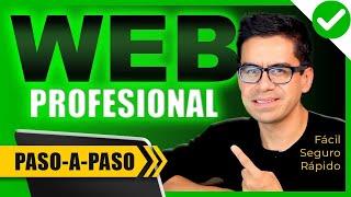 Cómo Crear Una PÁGINA WEB para NEGOCIO Paso a Paso ▶︎ ...
