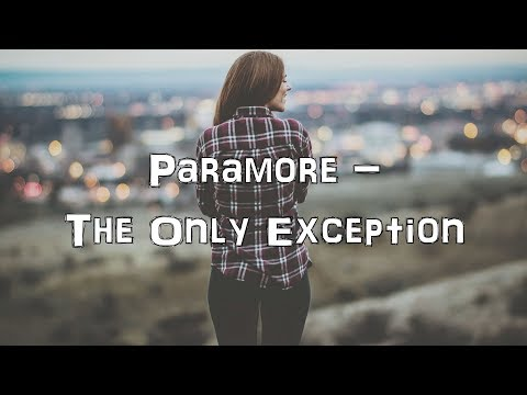 Paramore - The Only Exception [Acoustic Cover.Lyrics.Karaoke]