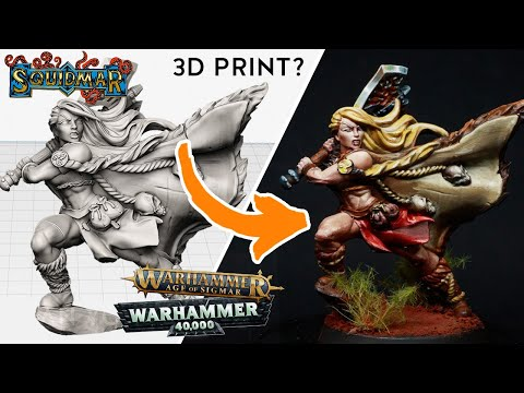 3D Printing your Warhammer Army proxies - Is it possible? (Printed with Anycubic Photon)