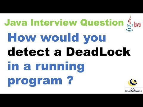 how-would-you-detect-a-deadlock-in-a-running-program?||way-to-detect-the-deadlock-in-a-running-jvm?