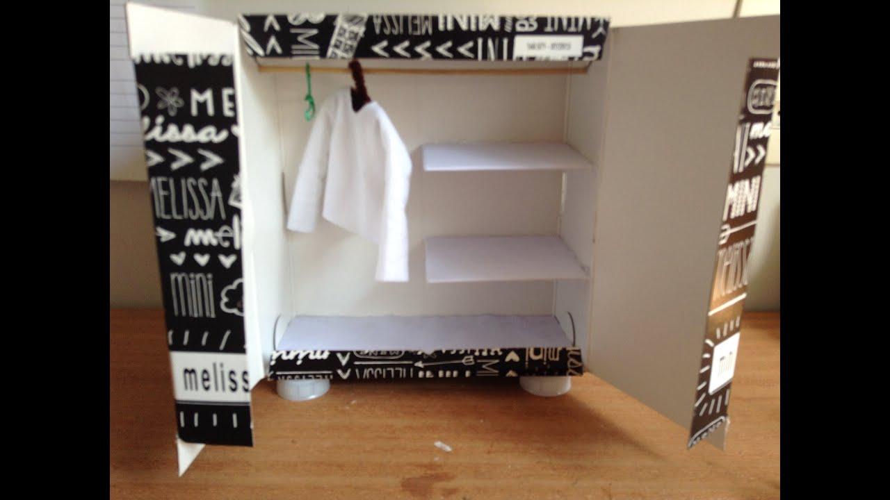 Populares DIY - Como fazer um armário para bonecas - YouTube MP38