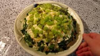 Салат с курицей и грибами. На ПРАЗДНИЧНЫЙ СТОЛ. Как сварить филе курицы в микроволновке для салата