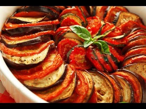 Рецепт: Запеченные в панировке кабачки на