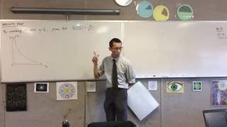 Harder Inequality Proofs (Using a graph and calculus to prove an inequality)