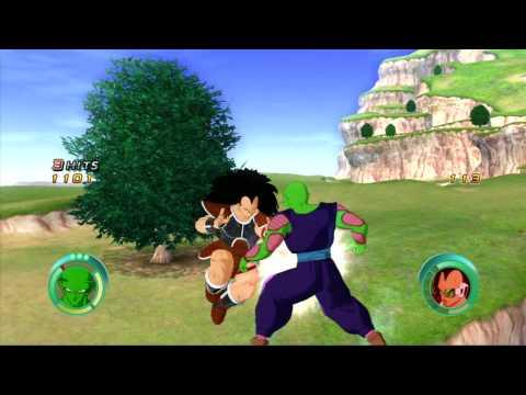 Dragon Ball Raging Blast Demo Gameplay HD [720p] - Piccolo VS Raditz
