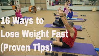 16 Ways to Lose Weight Fast (Proven Tips) | Natural ways