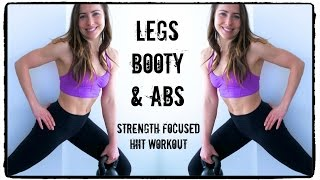legs booty abs hiit workout