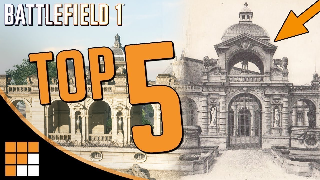 Top 5: The Best Historical Maps of Battlefield 1