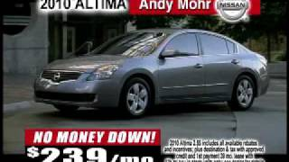 Andy Mohr Nissan March 2010 TV Commercial