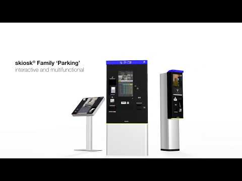 SKIDATA skiosk® Family 'Parking' Now in KSA