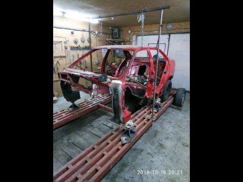 BMW Е-36.Замена порогов и днища и остального  ч.I