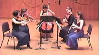 Mozart Clarinet Quintet 4th mvt