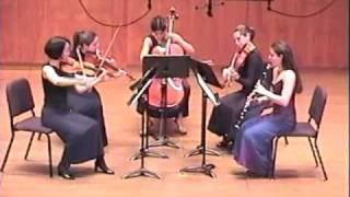 Mozart Clarinet Quintet 4th mvt