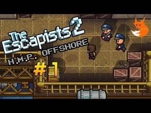 H.M.P. OFFSHORE GAMEPLAY #1 | The Escapists 2 [Xbox One]