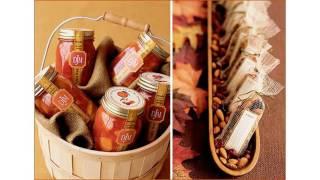 La boda del otoño favorece ideas de la decoración