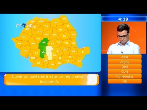 Câştigă România! - primul episod (@TVR)