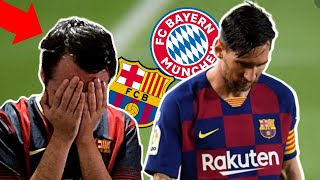 MAD BARCELONA FAN REACTS to Barcelona VS Bayern Munich 2-8 (LIVE REACCION)