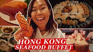 $688 ALL YOU CAN EAT Luxury Buffet in Hong Kong | Hong Kong Food Tour/Travel Vlog