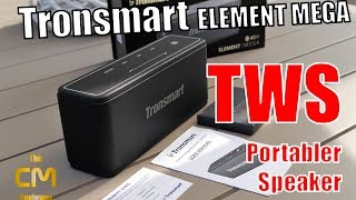 Tronsmart Element Mega Test: BT speakers with TWS Stereo 2 x 40W - H...