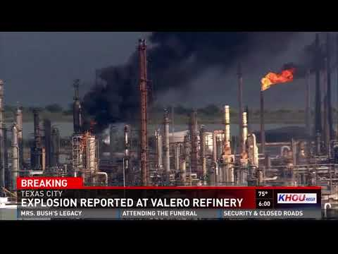 Valero plant where explosion has history of OSHA violations