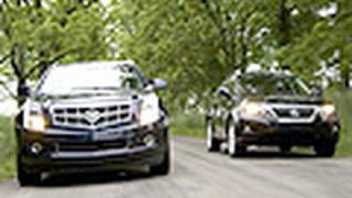 King Of The Crossovers - Cadillac SRX Vs Lexus RX350