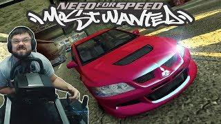 🔥 Соний на Mitsubishi Lancer Evo VIII VS заряженные суперкары  Need for Speed Most Wanted