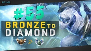 VERY TOXIC Silver Players | Zed Mid | Depths of Bronze to Diamond Episode #55