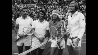 BORG COPA DAVIS ESPAÑA SUECIA 1975