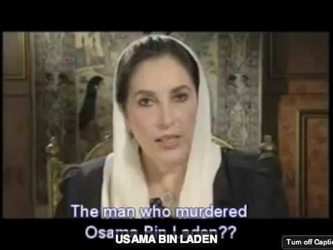 NOTE: See links in the video info. Bhutto Osama Bin Laden annotation