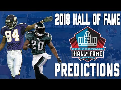 Elliot Harrison's 2018 Pro Football Hall of Fame Class | NFL Highlights