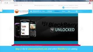 How to UNLOCK any Blackberry by Unlock Code (Z10, Z30, Q10, Q5)