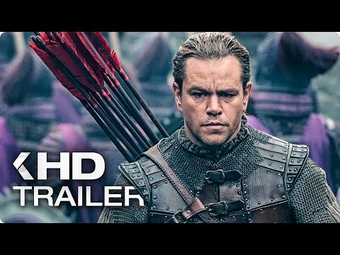 THE GREAT WALL Trailer 2 (2017)