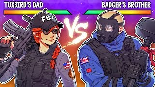 How My Dad Went Pro in Rainbow Six Siege ft. THERUSSIANBADGER