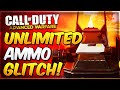 Advanced Warfare Exo Zombies Glitches - Unlimited EM1 Ammo! Laser Gun Glitch (AW Outbreak Zombies)