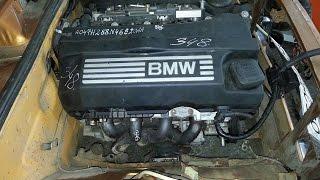 Ваз 2106 поставили двигатель от  бмв  воопще жара