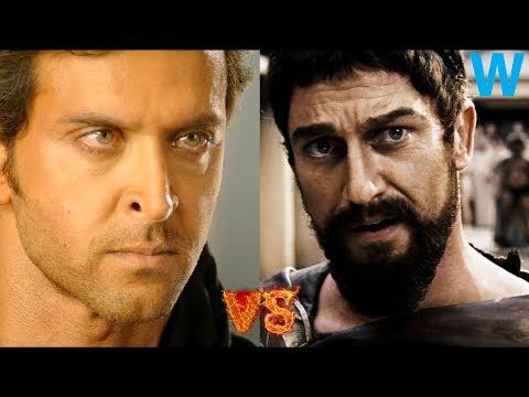 Bang Bang and 300 Funny Clip 1080p 60 FPS| Hrithik Roshan vs Gerard Butler | Who will win | WoClips