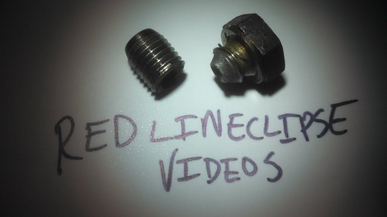 Broken Bmw Drain Plug Fix Removal E46 Youtube 325i Oil Location