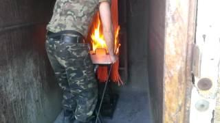 Испытание кабеля на распространения огня вертикально расположенных проводов(, 2016-07-04T10:08:19.000Z)