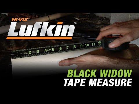 Lufkin® - Black Widow 25' Tape Measure (L1025B)