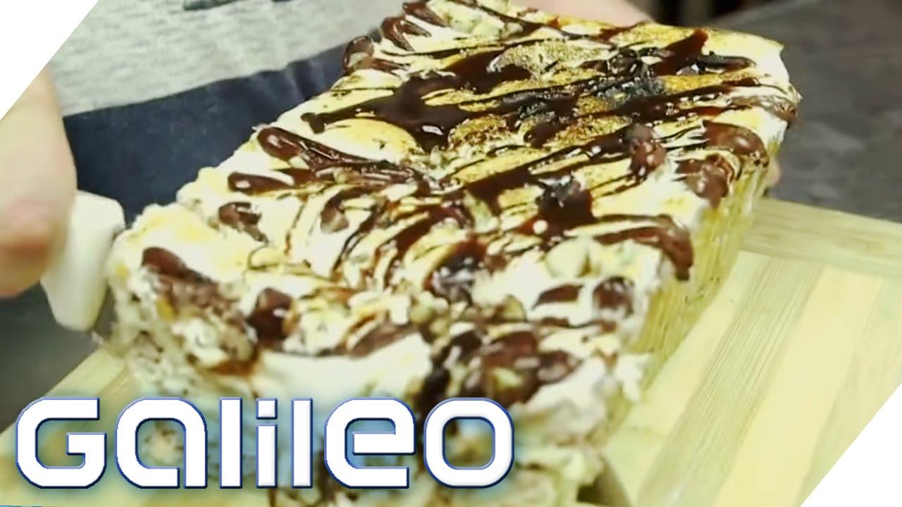 Jumbo testet den Foodtrend NY: Nutella Lasagne | Galileo Lunch Break