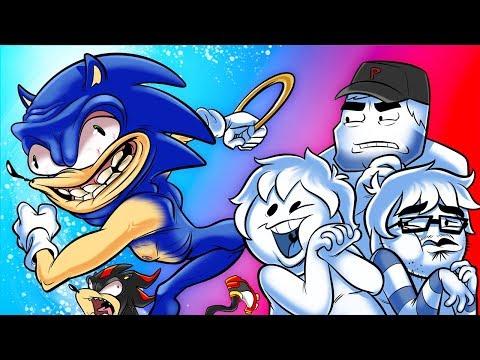 Oney Plays Sonic Adventure 2 BATTLE - Ep 1 - A Sci-Fi World |