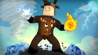 Roblox Adventures / Elemental Wars! / FIRE, WATER, SKY, ELECTRIC POWERS, & MORE!