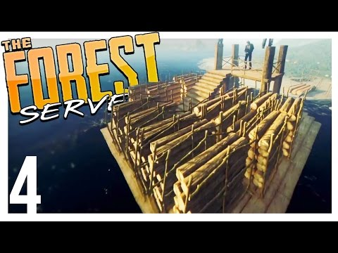 200 LOG TRANSPORT | The Forest Multiplayer Gameplay - Part 4 (Patreon Server)