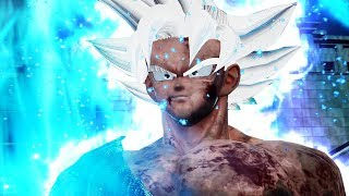 Jump Force - Goku Ultra Instinct (Mastered Ultra Instinct) Character Gameplay (MOD)