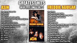 Asin, Freddie Aguilar Greatest Hits NON-STOP l Freddie Aguilar, Asin tagalog Love Songs Of All Time