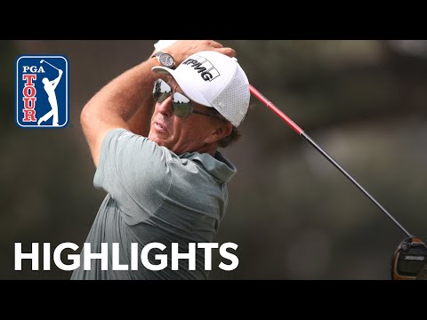 Phil Mickelson shots 2-under 70 | Round 3 | Safeway Open 2020