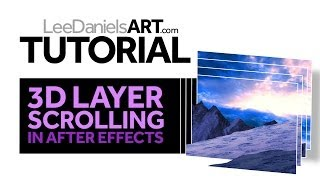 Tutorial | After Effects | 3D Layer Scrolling